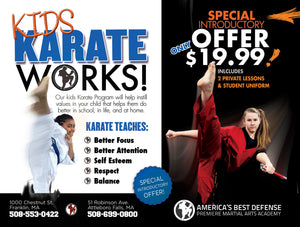 Karate Works Paper Ad