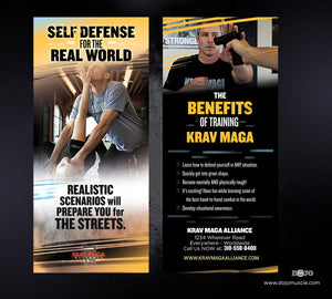 Rack Card Krav Maga Alliance 1d