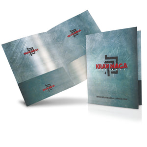Krav Maga Folder - Sleek Grunge View 3