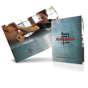 Krav Maga Folders - Sleek Grunge Image 3