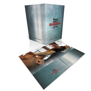 Krav Maga Folders - Sleek Grunge Image 1 - Dojo Muscle