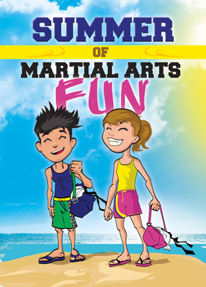 Childrens Summer of Fun Martial Arts Card