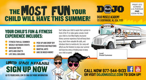 Fun and Fitness EDDM Cards - Dojo Muscle