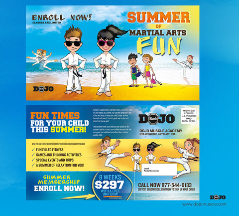 Summer Of Fun EDDM Cards