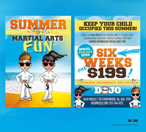 Children's Summer Fun Series 1a - Dojo Muscle