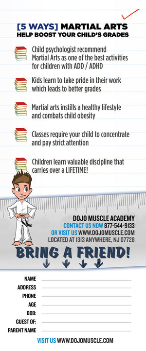Buddy Pass Back To School Martial Arts Students Get Better Grades C - Dojo Muscle