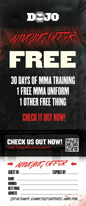 Tear Off Cards - MMA 3 - Dojo Muscle