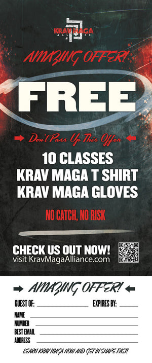 Tear Off Cards - Krav Maga 1
