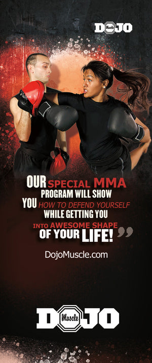Tear Off Cards - MMA 2 - Dojo Muscle