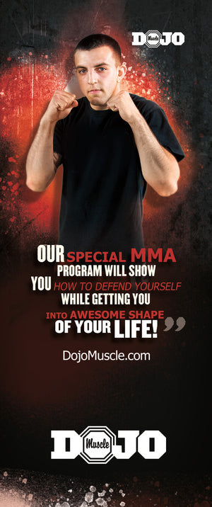 Tear Off Cards - MMA 1 - Dojo Muscle