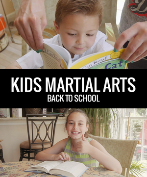 Kids Back To School 1 - Dojo Muscle