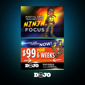 Back To School With Ninja Focus 2.0 Trial Pass 2 - Dojo Muscle