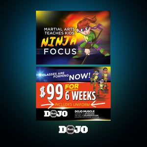 Back To School With Ninja Focus 2.0 Trial Pass 3 - Dojo Muscle