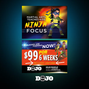 Back To School With Ninja Focus 2.0 Trial Pass 4 - Dojo Muscle