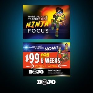 Back To School With Ninja Focus 2.0 Trial Pass 5 - Dojo Muscle