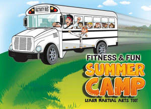 Fitness and Fun Summer Camp Trial Pass 1B - Dojo Muscle