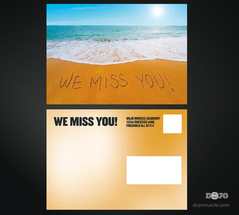 We Miss You Card 1