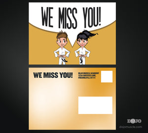 We Miss You Card 3