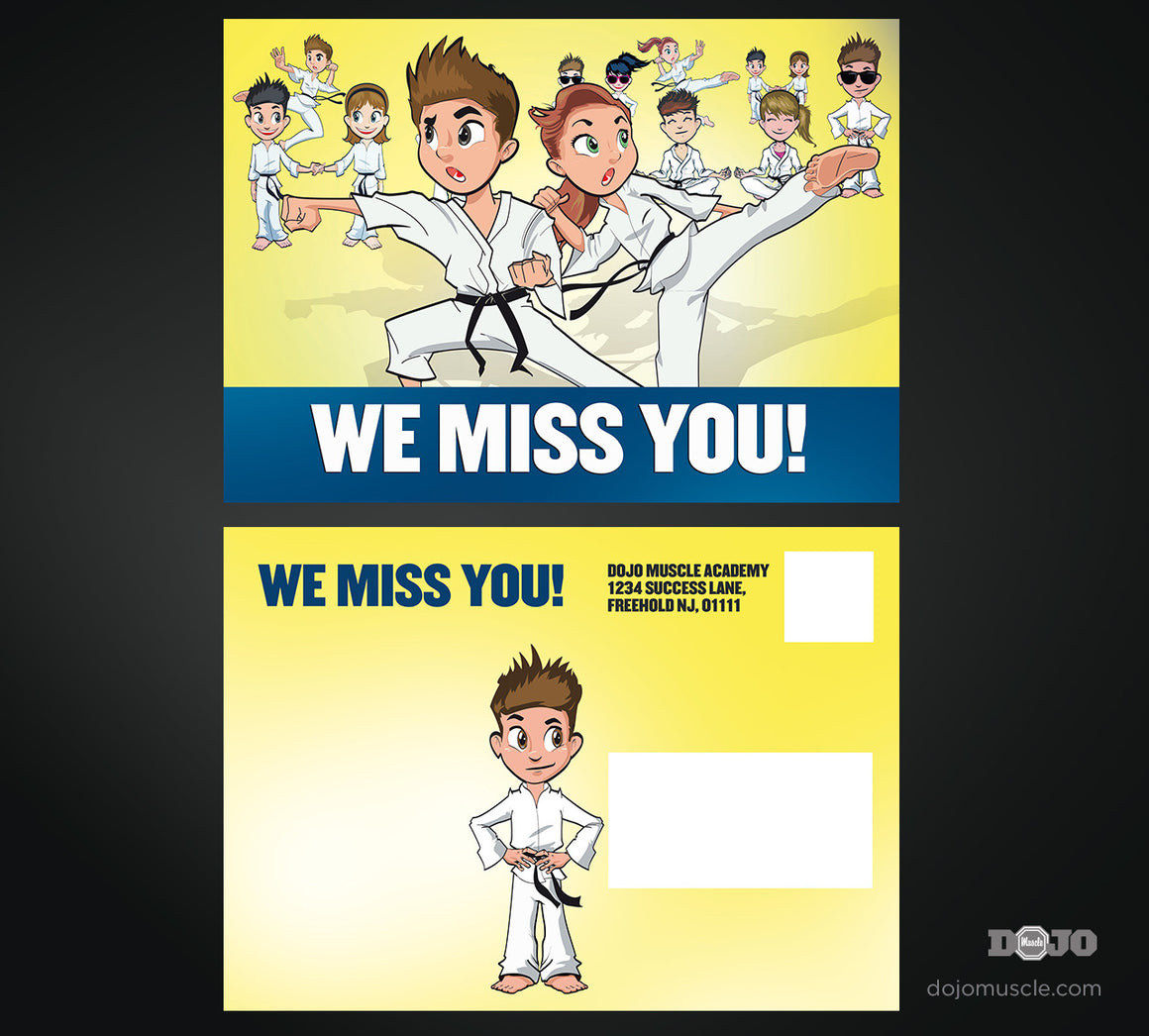 We Miss You Card 2