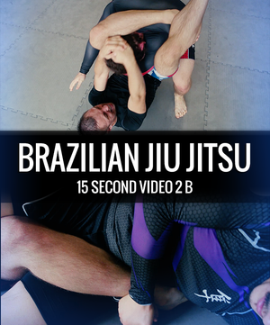 a guy executing a triangle choke, and a heel hook.