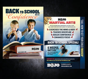 Back to School Flyer - Confidence - Dojo Muscle
