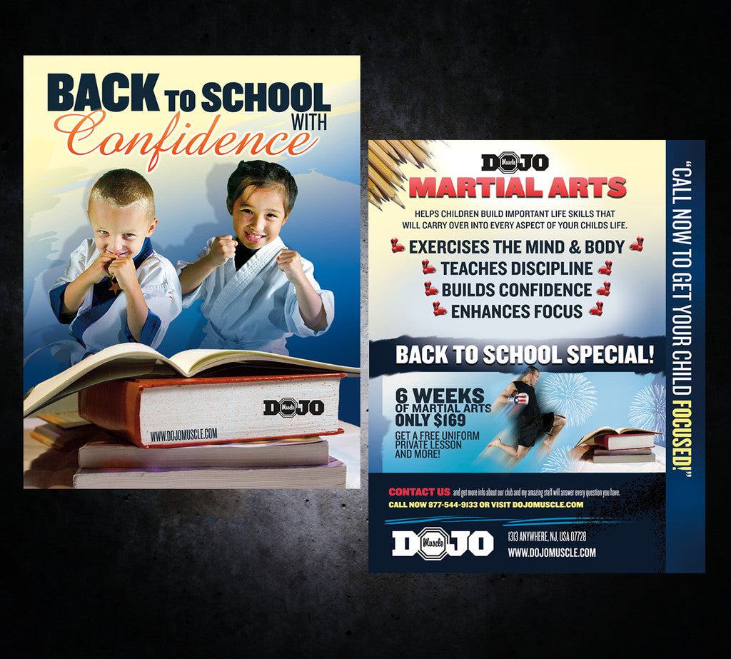 Back to School Flyer - Confidence