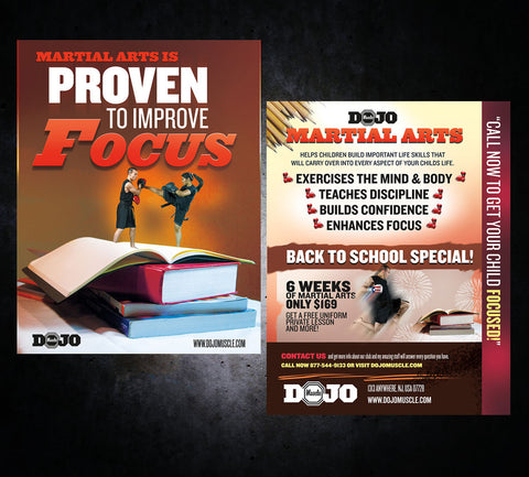 Back to School Flyer - Focus