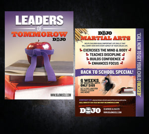 Back to School Flyer - Leaders - Dojo Muscle