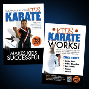 Kids Karate- Success Postcard - Dojo Muscle