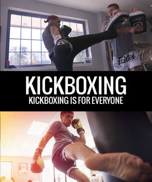 Kickboxing - Kickboxing is for Everyone - Dojo Muscle
