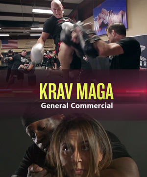 Krav Maga Commercial General (Square)