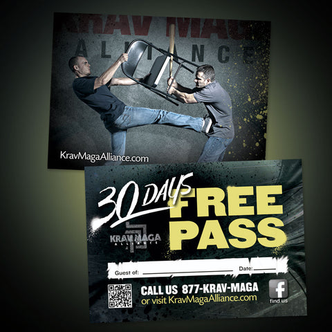 Trial Pass Krav Maga Alliance 1A