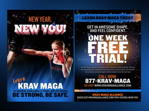 Krav Maga Alliance New Year Resolution - Dojo Muscle