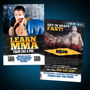 Mixed Martial Arts Postcards