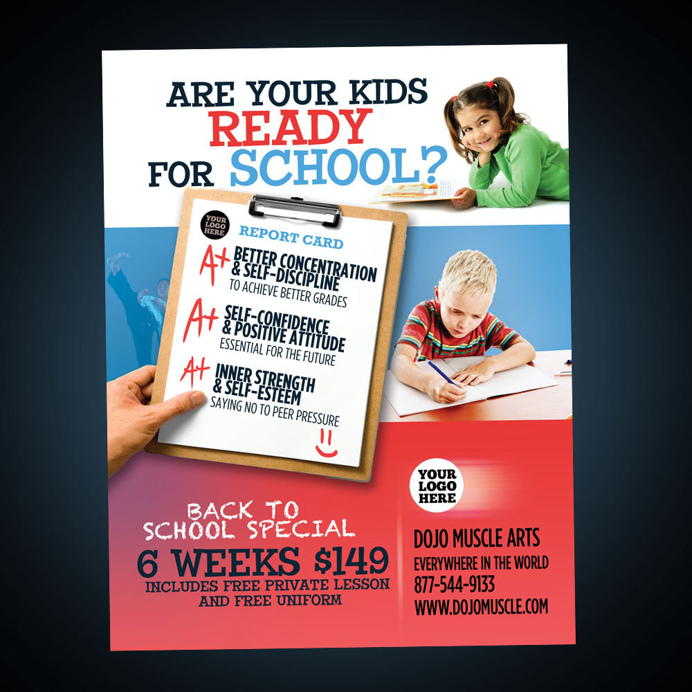 Back To School Flyer - Ready?