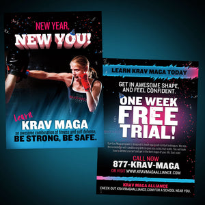 Krav Maga Alliance New Year Resolution