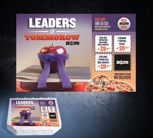 Back to School Pizza Box Toppers - Leaders