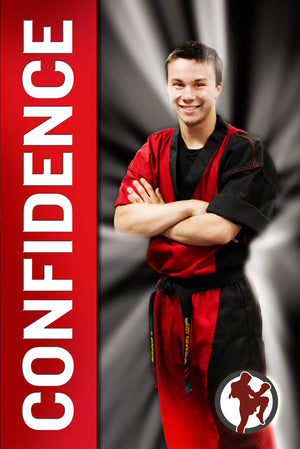 Confidence Poster - ABD - Dojo Muscle