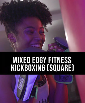 Mixed Edgy Fitness Kickboxing (Square) - Dojo Muscle