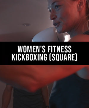 Women's Fitness Kickboxing (Square) - Dojo Muscle