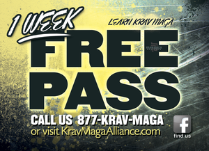 Trial Pass Krav Maga Alliance 2B - Dojo Muscle