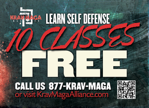 Trial Pass Krav Maga Alliance 3B - Dojo Muscle