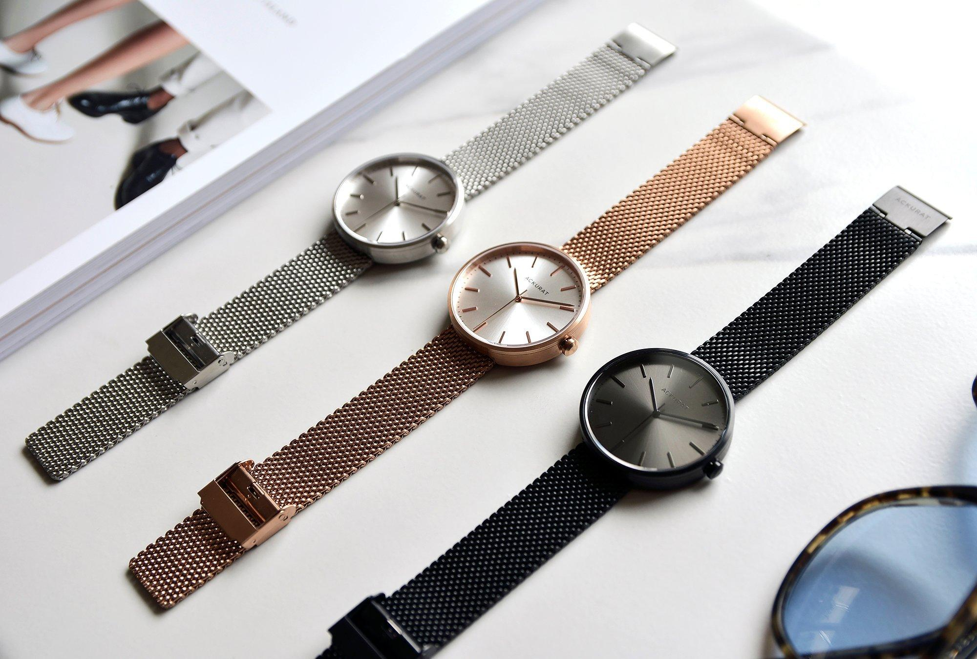 Contemporary watches influenced by the past