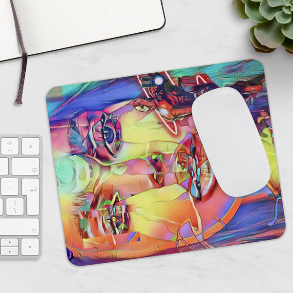 Priyanka Love Art Face Mousepad 1