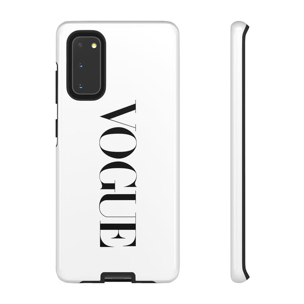 Vogue Inspired Shakeitoff White Snap Phone Case