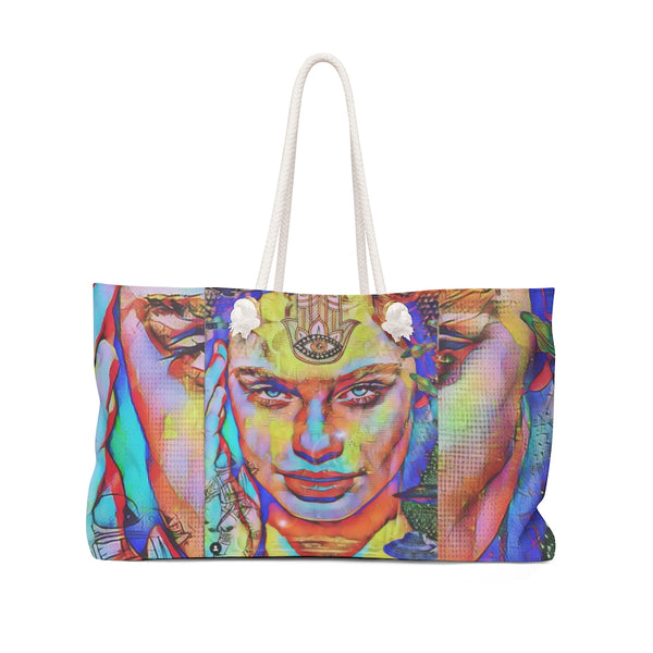 Third Eye Girl1 Weekender Bag
