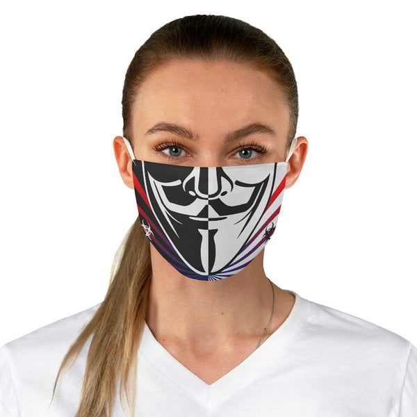 Vendetta Split Bio Hazard Fabric Face Mask