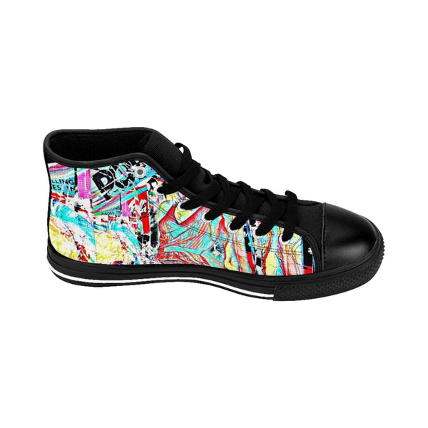 Pop Star52 Men's High-top Sneakers-worlddiscountstore