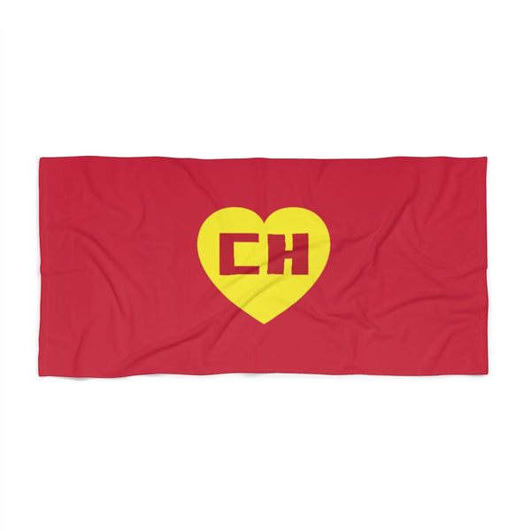 Chapulin Colorado Beach Towel Polyester Cotton loop backing
