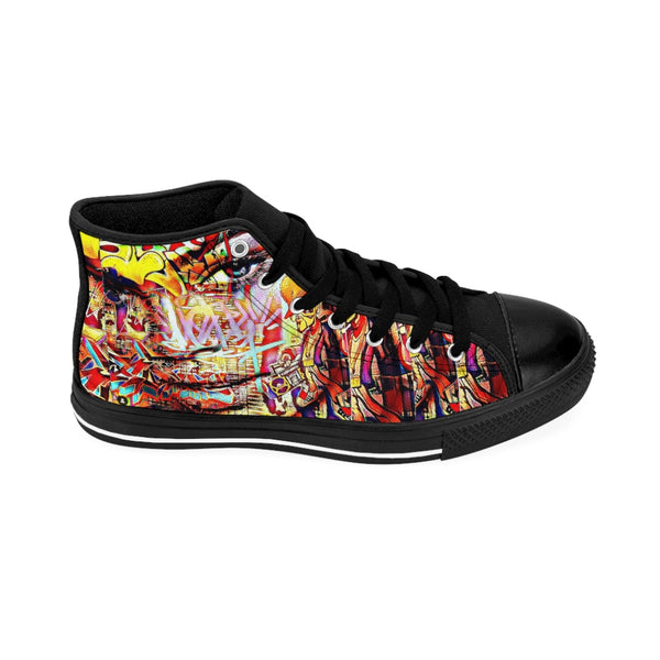 Hip Hop Song Womens High-top Sneakers-All Over Print, Shoes, Women's Clothing-Etsy-TrumpVaderStore-TheWorlddiscountstore